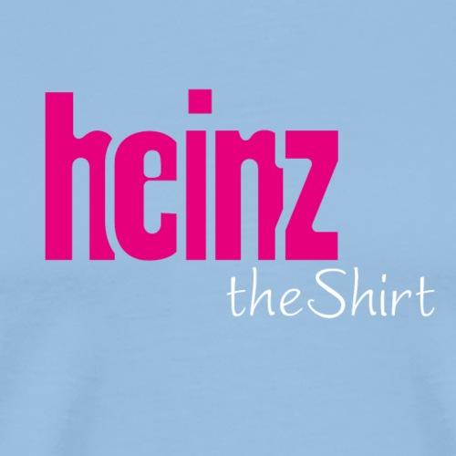 HEINZ the SHIRT - Männer Premium T-Shirt