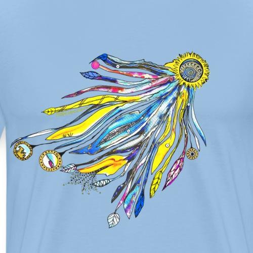 Trag Sonne im Herzen - Männer Premium T-Shirt