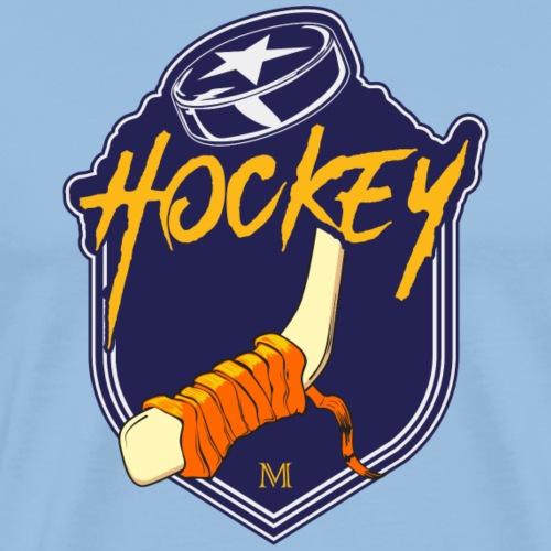 hockey emblem - Maglietta Premium da uomo