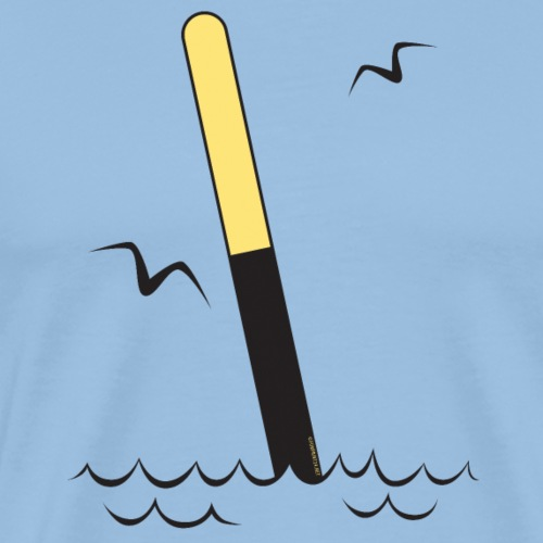 ETELÄVIITTA Merimerkit, Tekstiilit ja lahjat - Miesten premium t-paita