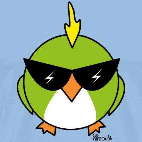 Oiseau Punk Lunettes de soleil - T-shirt Premium Homme