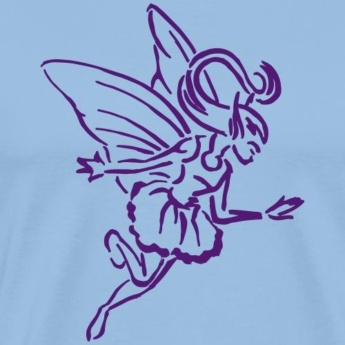 Fee Farbe anpassbar Tribal Elfe Lustig Geschenk - T-shirt Premium Homme