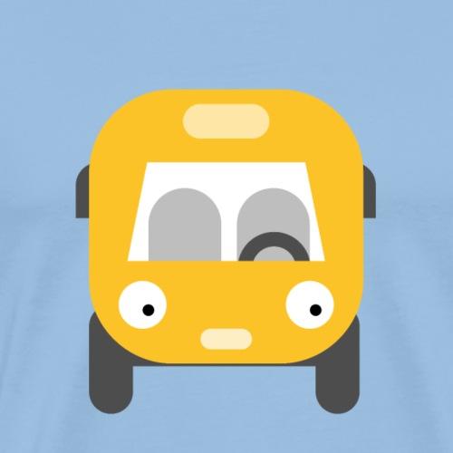 Lustiger Comic Bus