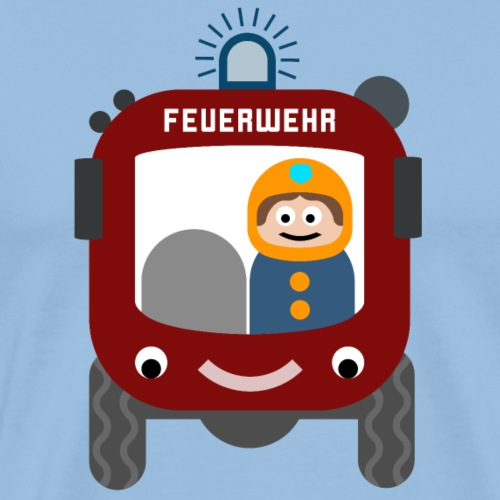 Lustiges Feuerwehrauto