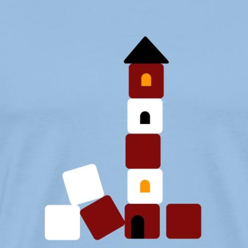 Amrumer Leuchtturm - Männer Premium T-Shirt