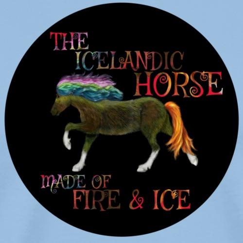 Icelandic Horse - Männer Premium T-Shirt