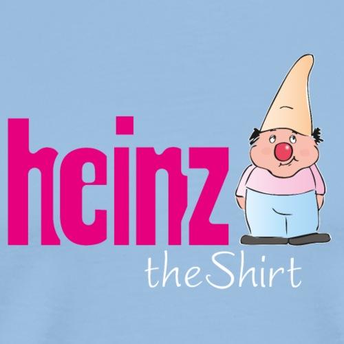 Logo Heinz THE SHIRT - Männer Premium T-Shirt