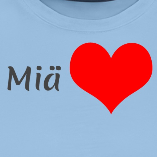 Miä sydän - Miesten premium t-paita