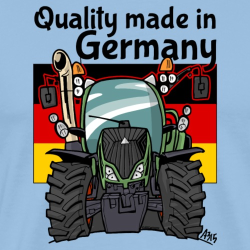 quality made in germany F - Mannen Premium T-shirt