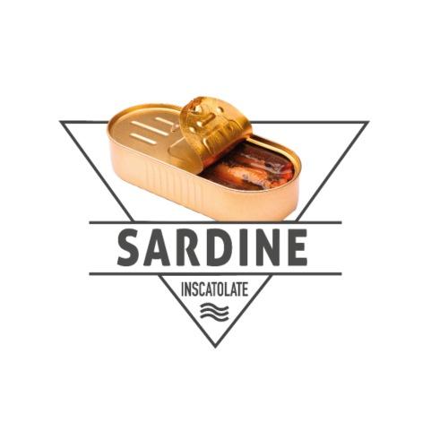 Scudetto Sardine in scatola - Maglietta Premium da uomo