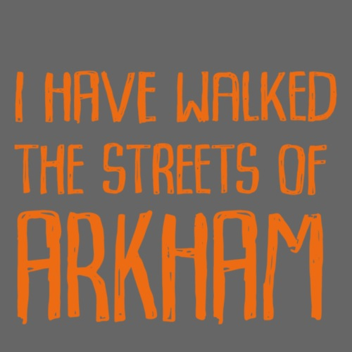 Streets of Arkham Orange - Premium-T-shirt herr