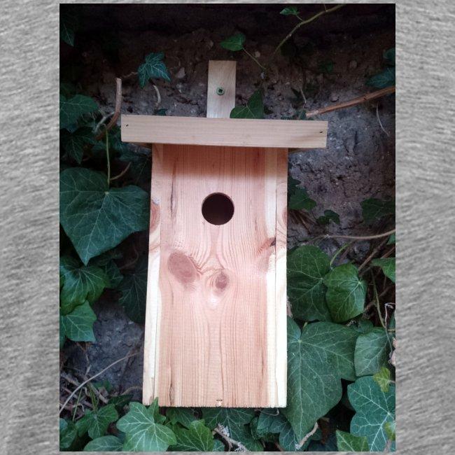 Der Nistkasten - Luxus für den Garten-Vogel