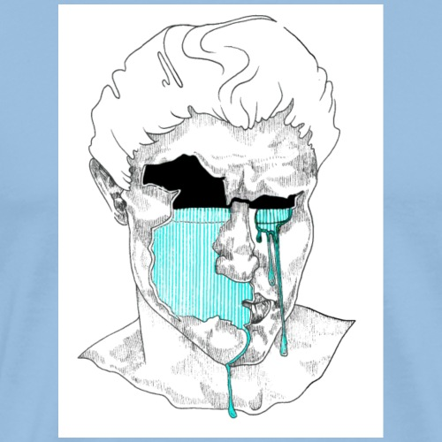 'Cry Me A River Baby' Grafik - Männer Premium T-Shirt