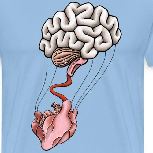 Herz & Hirn - Männer Premium T-Shirt