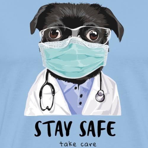 stay safe2 - Men's Premium T-Shirt