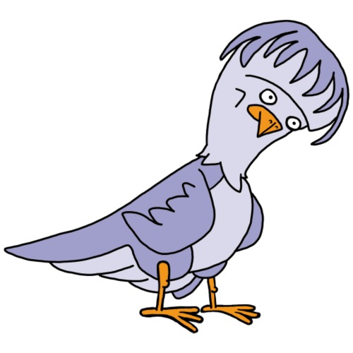 Taube von dodocomics - Männer Premium T-Shirt