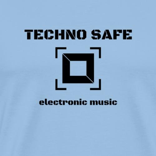 logo schwarz electronic music - Männer Premium T-Shirt