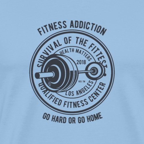 Fitness Addiction - T-shirt Premium Homme