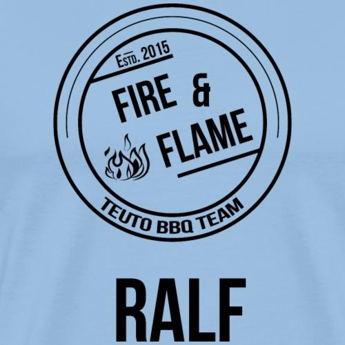 Ralf schwarz - Männer Premium T-Shirt