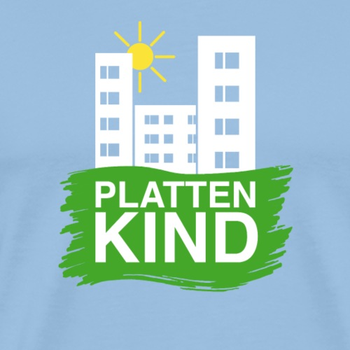 Plattenkind - Männer Premium T-Shirt