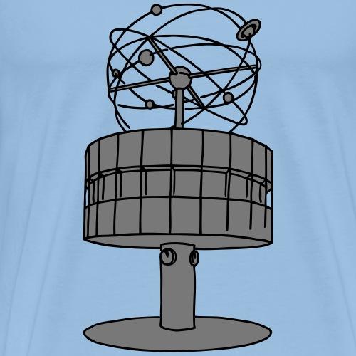Weltzeituhr Berlin 2 - Männer Premium T-Shirt