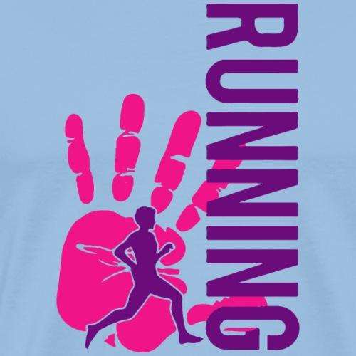 triathlon Running - Männer Premium T-Shirt