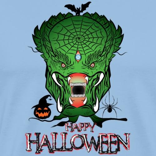 Halloween Aliens - T-shirt Premium Homme
