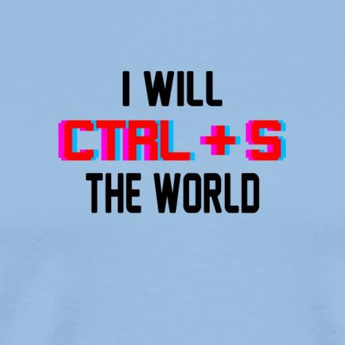 CTRL S - Männer Premium T-Shirt