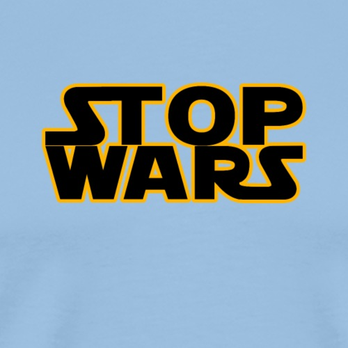 STOP WARS - Männer Premium T-Shirt