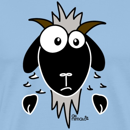 Chèvre (tête) - T-shirt Premium Homme