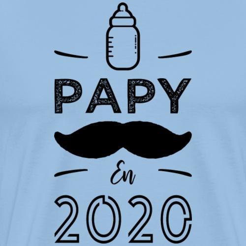 Papy en 2020 - T-shirt Premium Homme