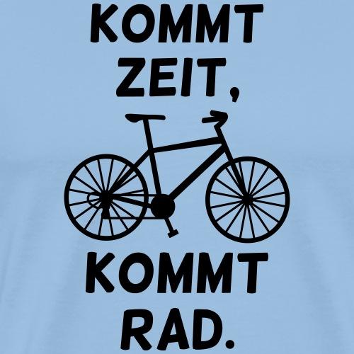 Fahrrad fahren Rad Spruch - Männer Premium T-Shirt