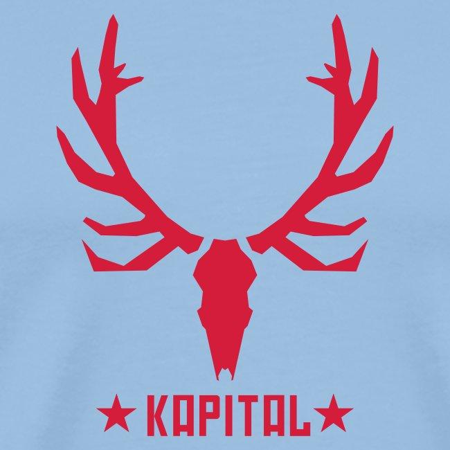 """""""Kapital Rothirsch""""-Shirt für Jäger"""