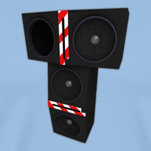 T-speakers - Miesten premium t-paita