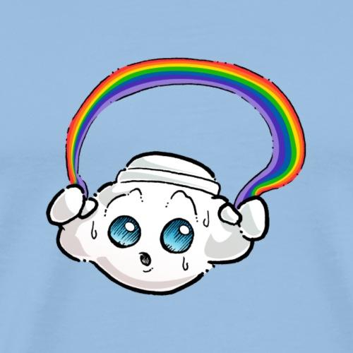 Oliver Cast The Cloud - Rainbow - Men's Premium T-Shirt