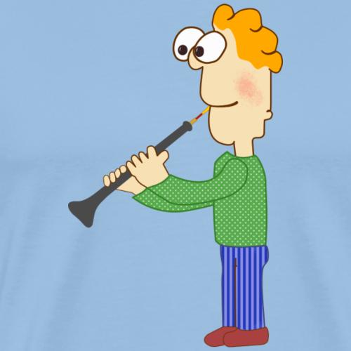 oboe man - Männer Premium T-Shirt
