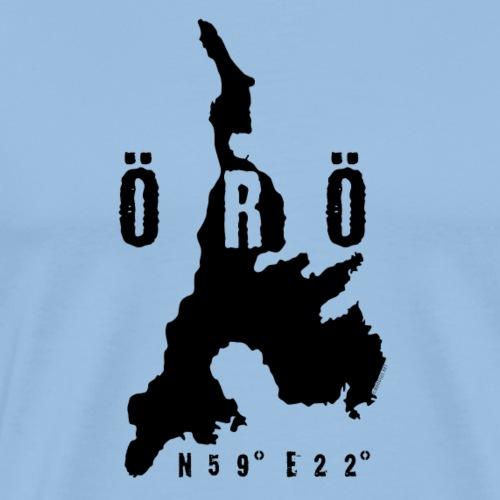 ÖRÖ ISLAND, FINLAND T-SHIRTS, HOODIES + 150 GIFTS - Miesten premium t-paita