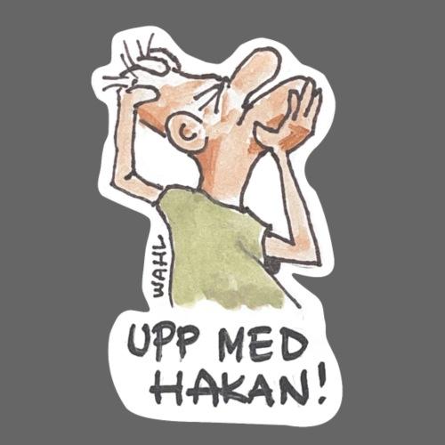 UPP MED HAKAN! - Premium-T-shirt herr