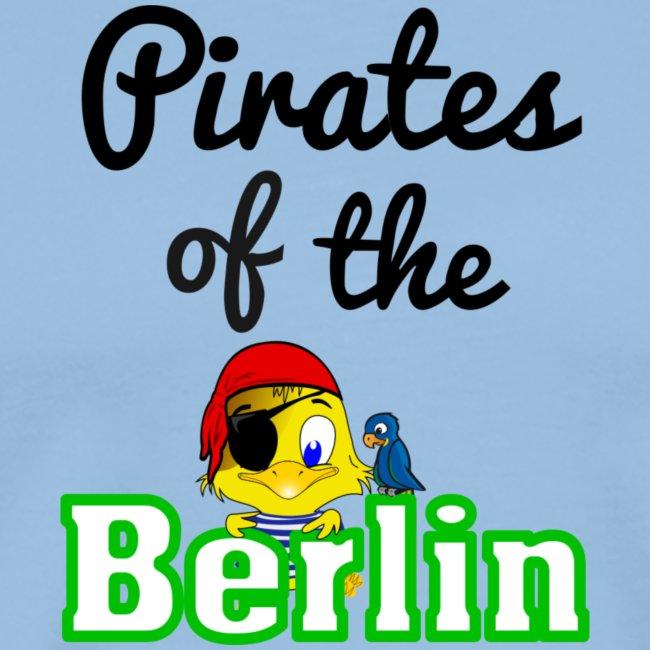 Pirates of the Berlin (schriftzug schwarz)