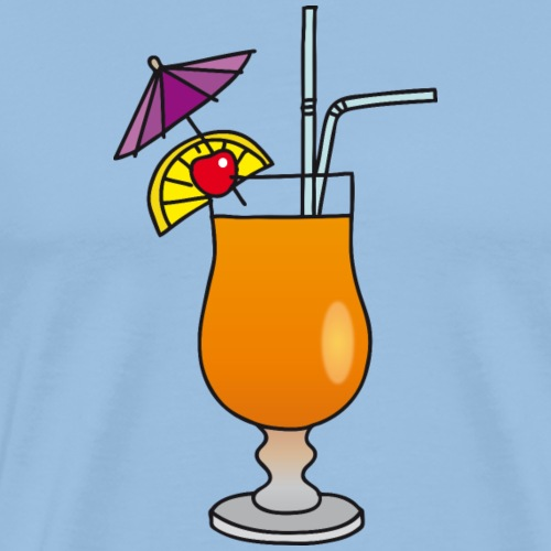 Fruchtiger Cocktail - Männer Premium T-Shirt