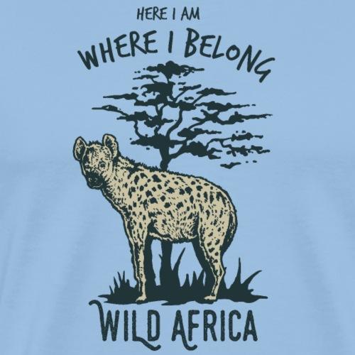 Hyäne - Männer Premium T-Shirt