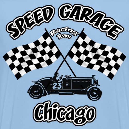 old racing team - Men's Premium T-Shirt