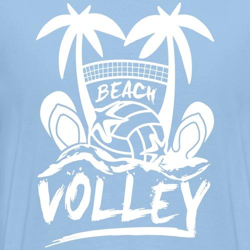 BEACH VOLLEY - T-shirt Premium Homme