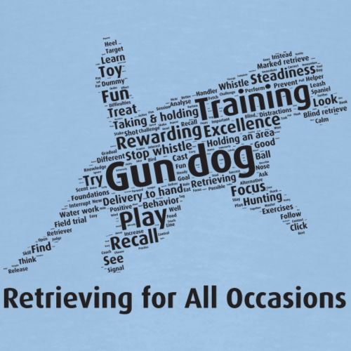 Retrieving for All Occasions wordcloud svart