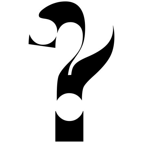 typo sign question mark - T-shirt Premium Homme