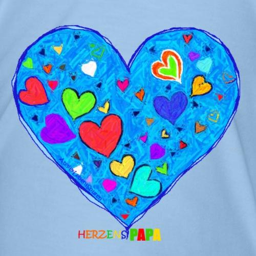 Herzenspapa - Männer Premium T-Shirt