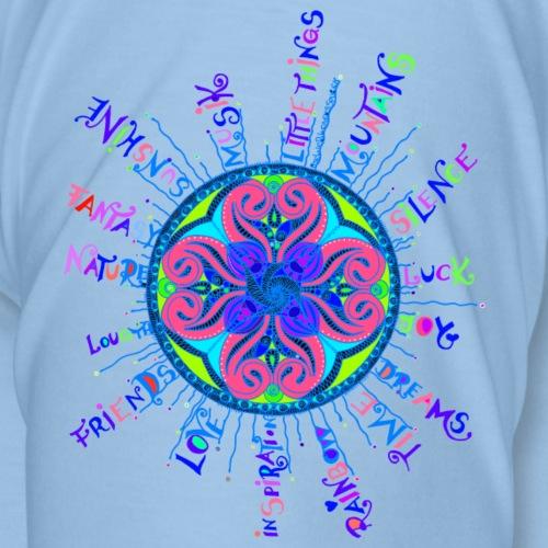 Live life in color - Männer Premium T-Shirt