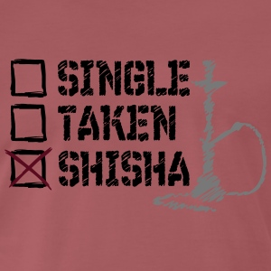 SINGLE TAS SHISHA - Premium-T-shirt herr