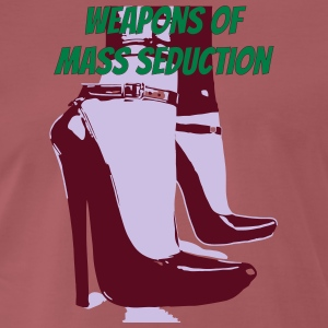 weapons of mass seduction - Men's Premium T-Shirt