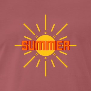 Summer, sun, beach, party, vacation, holiday - Men's Premium T-Shirt